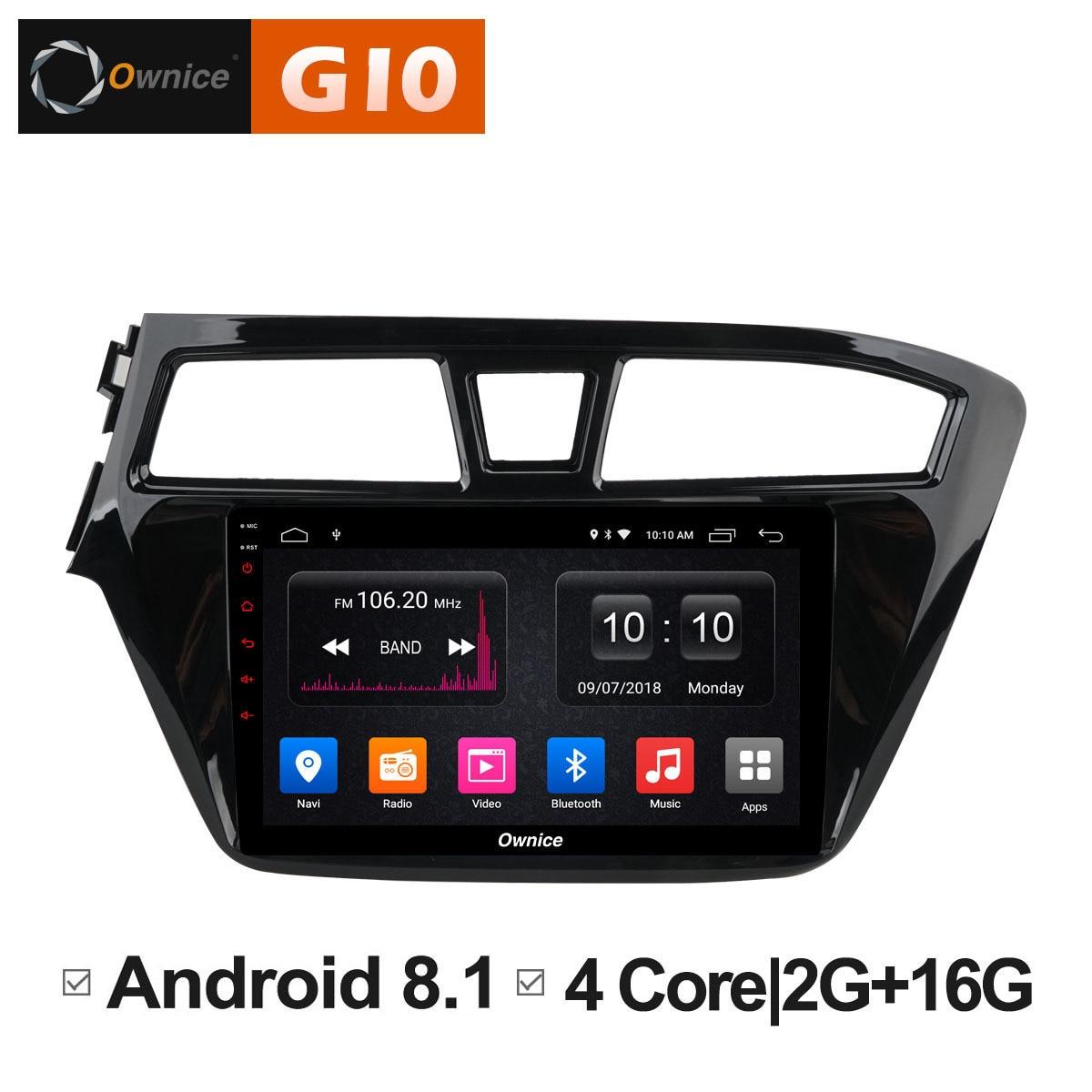 Android 8,1 блок для HYUNDAI I20 2015 2016 2017 2018 автомобилей Smart площадку компьютер DVD мультимедийный плеер gps радио CD аудио навигации