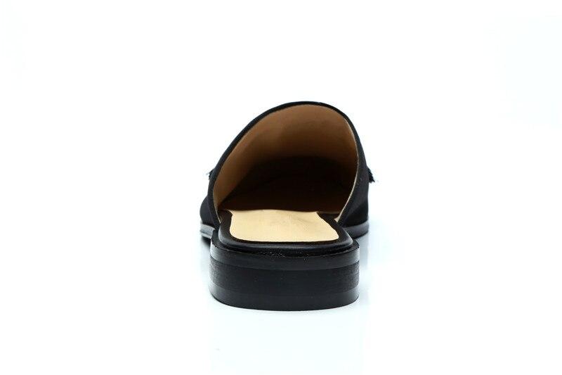Designer Baixos Show Homem Sapatos Saltos Luxo Ao Mocassins Estilo Sólidos Rebanho Moda Mens Casuais Livre As Ar De Preto Apartamentos Franja Chinelos IgFv4