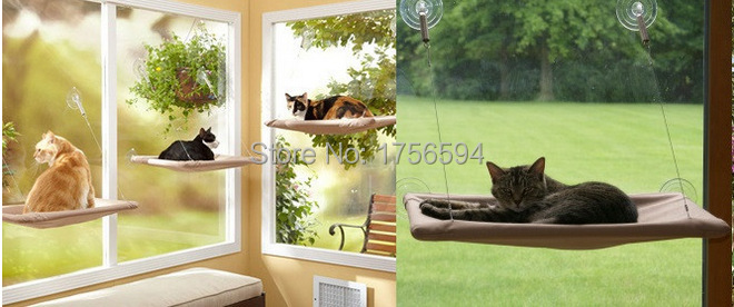 Limited time discount Sunny Seat Window Mounted Cat Bed Machine ...