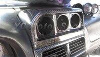 Автомобильные аксессуары углеродного волокна Даш Gauge Pod подходит для 1996 2001 Subaru Impreza WRX STI GC8 GF8 Dash датчик POD