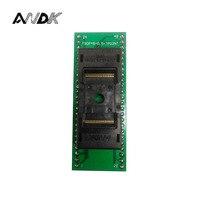 ANDK Alta Qualidade Longa TSOP48-0.5 Topo Aberto Estrutura de Queimadura no Soquete IC Teste programador Tomada Adaptador de Tomada de Teste do Flash tnm5000