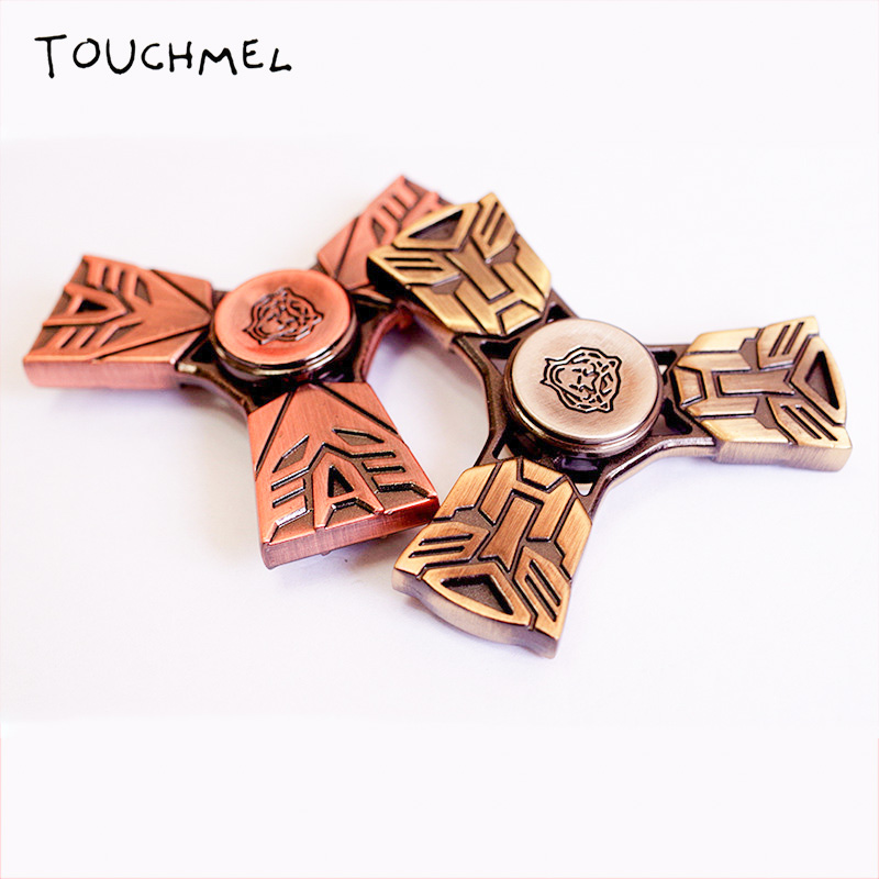 TOUCHMEL Transformer Hand Spinner Fidget Toy EDC Finger Fidget Spinner Anti Stress