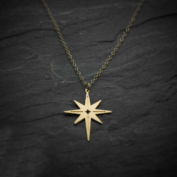 2018 New Arrival North Star Necklace Women Copper Jewelry Gift For Girl Drop Shipping Accepted YP6387