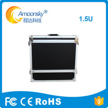 empty flight case for stage rental led screen display video processor moving professional equipment