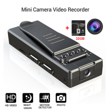 Mini Portable Camera A7 HD 1080P Wifi Body Cameras 32GB DVR