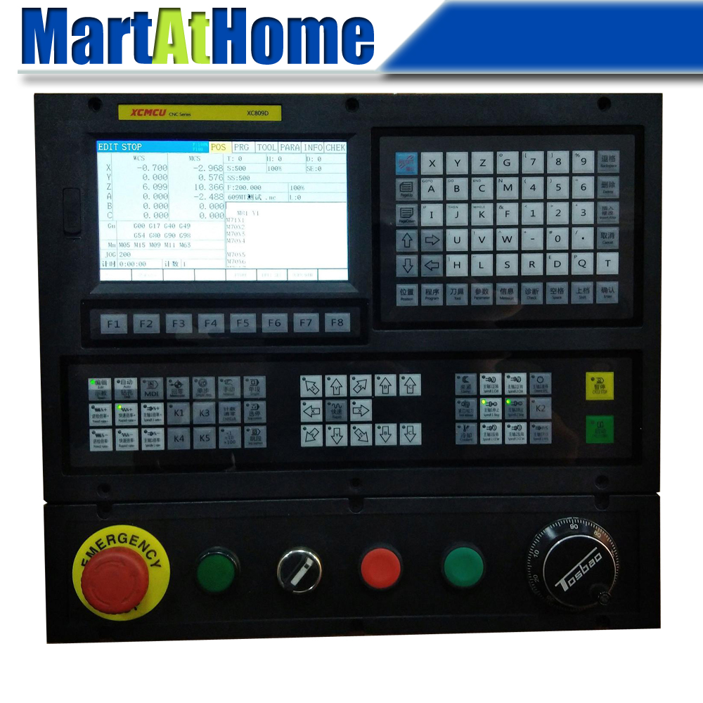 3~6 Axis USB CNC Control System FANUC G-code Support Milling Boring Tapping Drilling Feeding3~6 Axis USB CNC Control System FANUC G-code Support Milling Boring Tapping Drilling Feeding