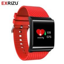 Exrizu X9 Pro красочные Экран Smart Band Фитнес браслет Приборы для измерения артериального давления и сердечного ритма Мониторы Браслет Шагомер шаги спортивные