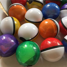215 Buah/Banyak Pokeball XY Crystal Sticker Pokebolas Poke Action Figure Pokeball Pikachu Figure Stiker Permainan Bola(China)