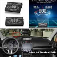 For Subaru Baja Forester Impreza - Car HUD Head Up Display - Reflect Related parameters on windshield to maintain best status