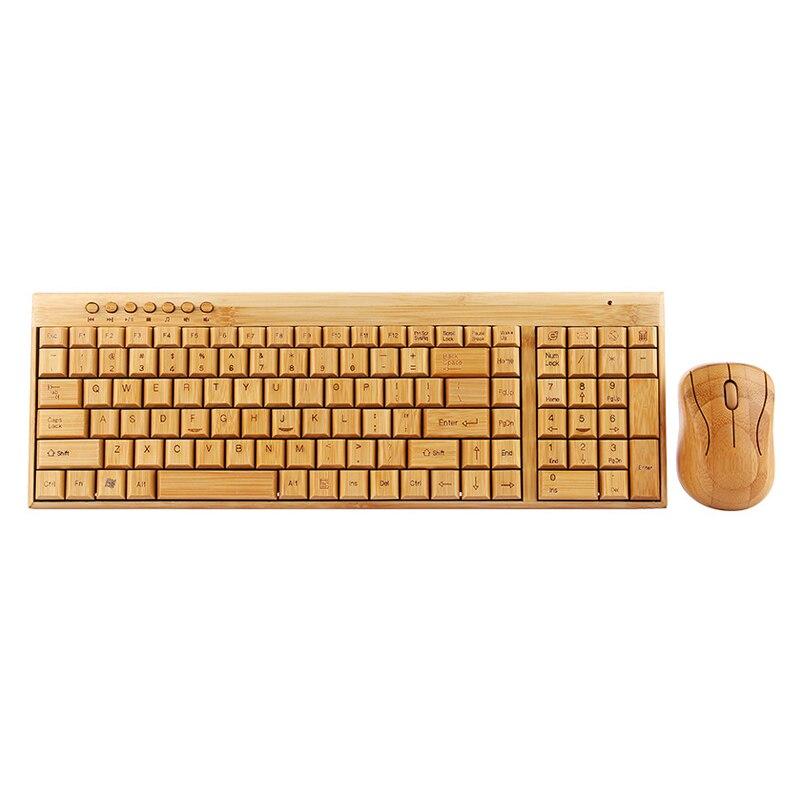 Main Bambou PC Sans Fil Clavier souris-Éco