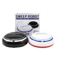 1PCS Sweeping Robot Vacuum Cleaner with Max Power Suction Floor Cleaning Robot Portable