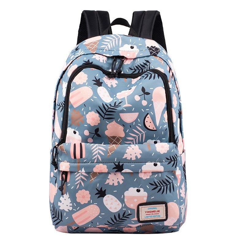 Children School Backpack Lovely Printing School Bags For Student Girls Boys Waterproof Backpack School Bag Travel Bags Mochilas