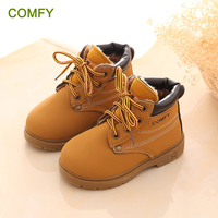 New Spring Boots Kids Fashion Autumn Baby Shoes Casual Antislip Toddler Girl Boots Handsome Bota Infantil