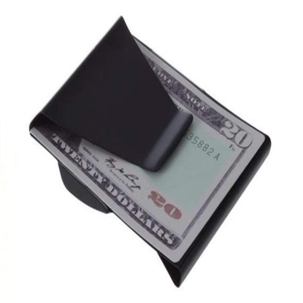 ISKYBOB-billetera con Clip de acero inoxidable para hombre y mujer, billetera con Clip para billetes, tarjetero de Metal, 2020