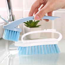 2 in 1 Plastic Cleaning Brush Multifunctional Laundry Shoes Washing Brushes Separable Flexible Scrubber For Floor Bath Tub