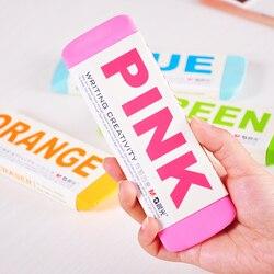 1 Pc/lote Colorido Super Enorme Borracha Resina & Borracha para artigos de Papelaria Da Escola & de Escritório, XP00007
