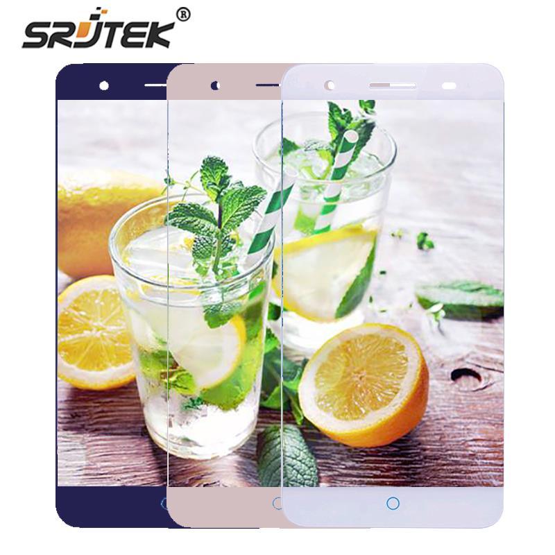 Srjtek Per ZTE Lama A610 Più Display LCD Touch Screen Digitizer Sensore di Vetro di Montaggio Parti di Ricambio 5.5 pollice 1280*720