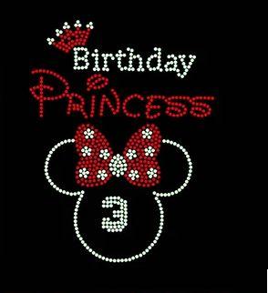 2pc / lot Crown Birthday Rhinestones motiv applique ron na motivima - Umjetnost, obrt i šivanje - Foto 1