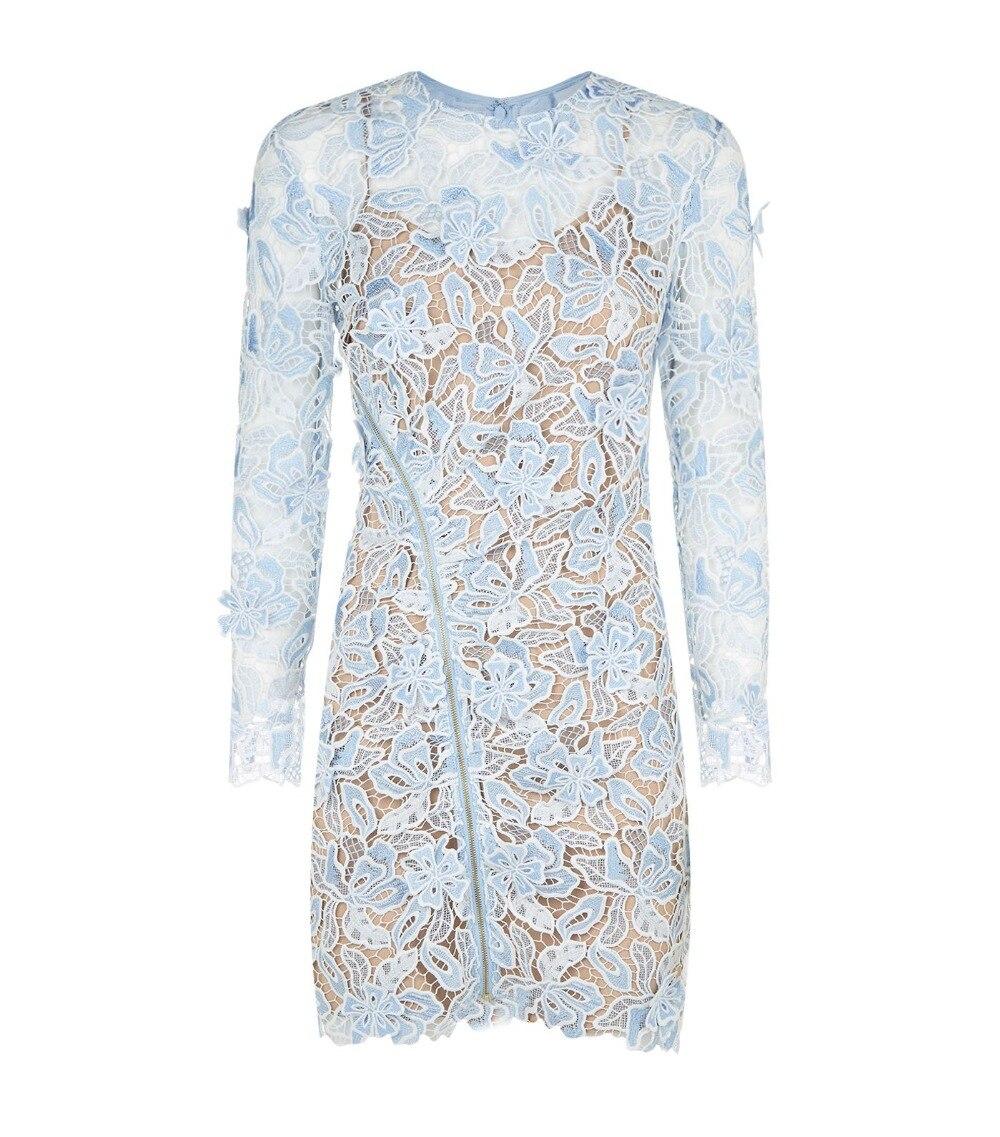 2019 nouvelle arrivée printemps à manches longues robe à fleurs-in Robes from Mode Femme et Accessoires    2