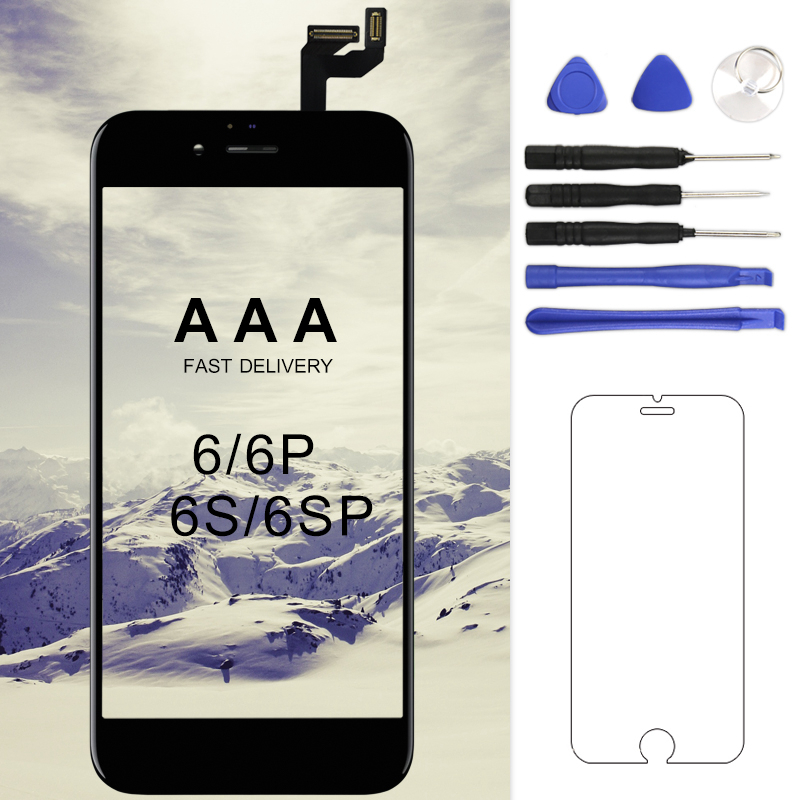 1PC Grade AAA LCD Screen For iphone 6 6S Display Digitizer Phone Replacement Assembly 6plus 6s plus