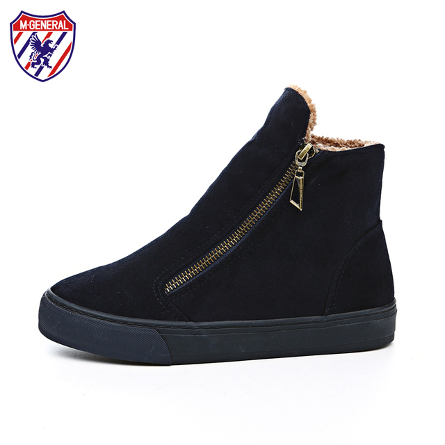 M.GENERAL M.GENERAL M.GENERAL Fur Female Warm Ankle Stivali Donna Winter Stivali Snow scarpe ... aad258