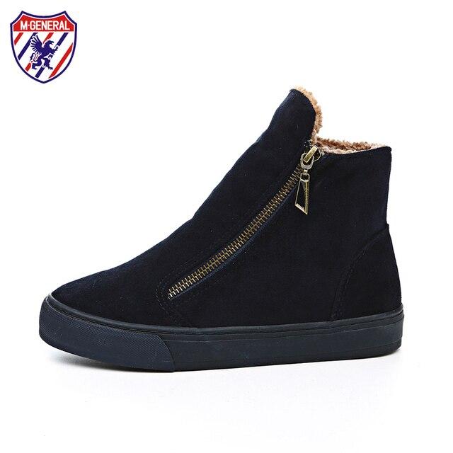 M. geral de pele feminino ankle boots mulheres botas de inverno quente sapatos botas de neve mulheres sapatos stivali donna botas bottes mujeres femmes #6891