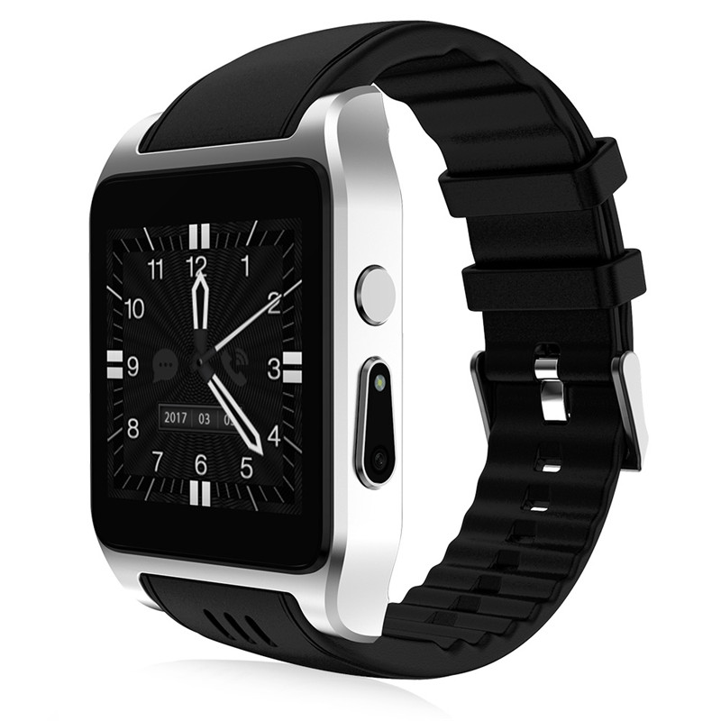 X86 Bluetooth Smart Watch For Android 4.4 RAM 512MB Support SIM Card 3G Wifi Connection Camera Sim Card Smartwatch 696 sport x86 bluetooth wifi smart watch rom 16g support 3g 4g sim card x01 android os