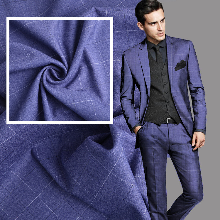 New Men plaid Suits Custom Made Slim fit Groom Tuxedo Bridegroom Business Dress Wedding suit 2 piece (jacket+pant )