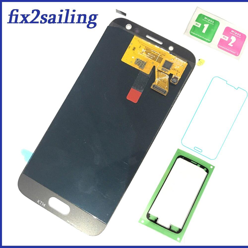 Pour Samsung Galaxy SM-J530F AMOLED LCD écran tactile J530 2017 J5 fractila remplacement 100% testé numériseur de travail