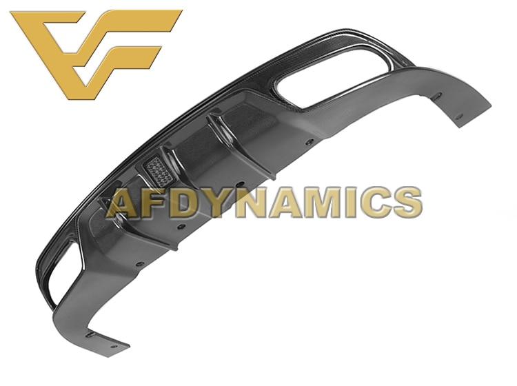 16-18 W117 CLA180 CLA200 CLA220 CLA250 CLA45 NV Sport Carbon Fiber Rear Lip Bumper