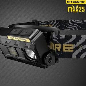 Image 4 - NITECORE NU25 phare 3 * CREE XP G2 S3 max 360 lumen distance de faisceau de phare 81m lumière frontale extérieure avec câble de charge USB