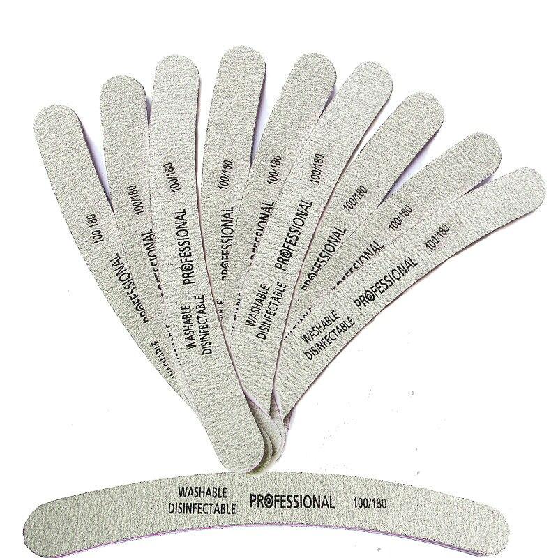 10pcs Professional Nail File Sanding Polish Buffer Sanding Nagels Nail Manicure Tools Random Tool Acrylic File Nail Art Block professional colorful 4 way nail file buffer polishing block sanding nail art manicure sponge setback nail art tools