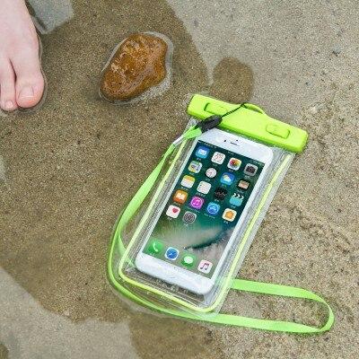 44f0734878b Naan Guo pantalla grande bolsa impermeable teléfono móvil bolsa impermeable  bolsas de almacenamiento con correa pantalla táctil buceo drift bolsas 1762  MB