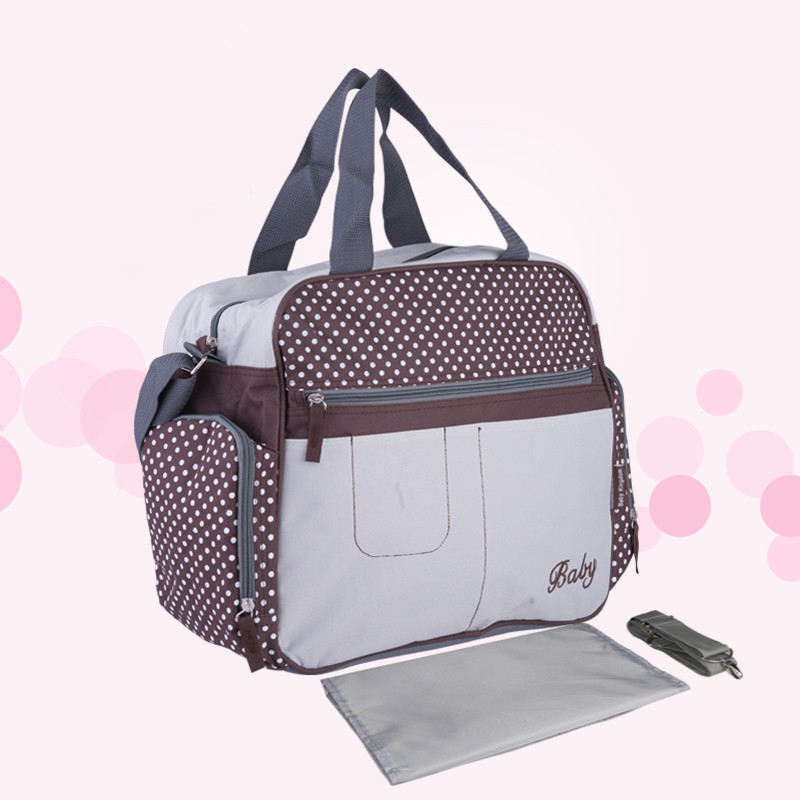 Insular High Quality Hand Diaper Bags Bolsa Maternidade Mummy Bags With Large Capacity For Mum Baby Diaper Changing Bags C40