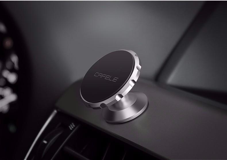 Cafele Oryginalny Uniwersalny Magnes Magnetyczne Telefon Samochodowy Uchwyt Obrót O 360 Stopni Uchwyt Samochodowy Uchwyt dla iPhone Samsung Smart Phone 18
