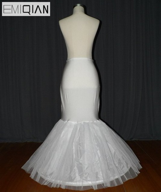 Real Image 2017 Mermaid Petticoat Wedding Accessories Vestido de ...
