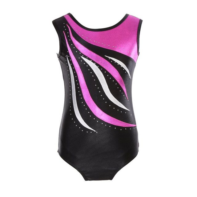 6b7be564f Gymnastics clothes girls high quality sleeveless radium color ...