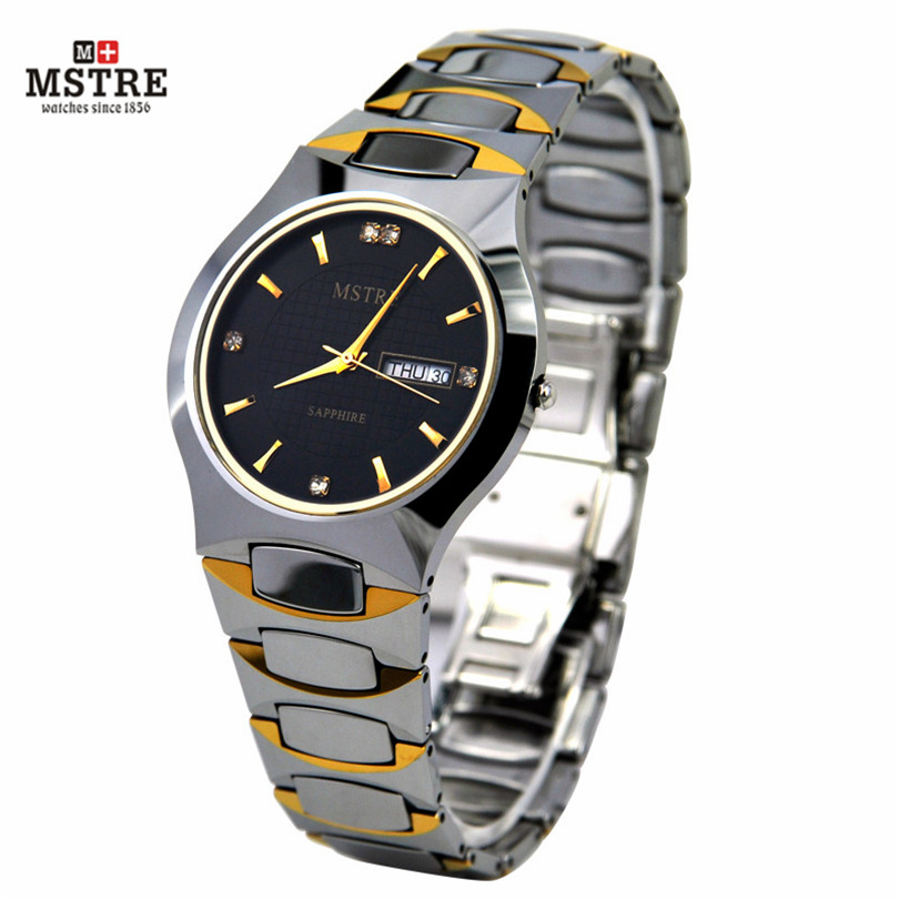 2PCS Lot Brand Lovers Watches Quartz Couple s Watches Luxury Wrist Watch for Men Women with