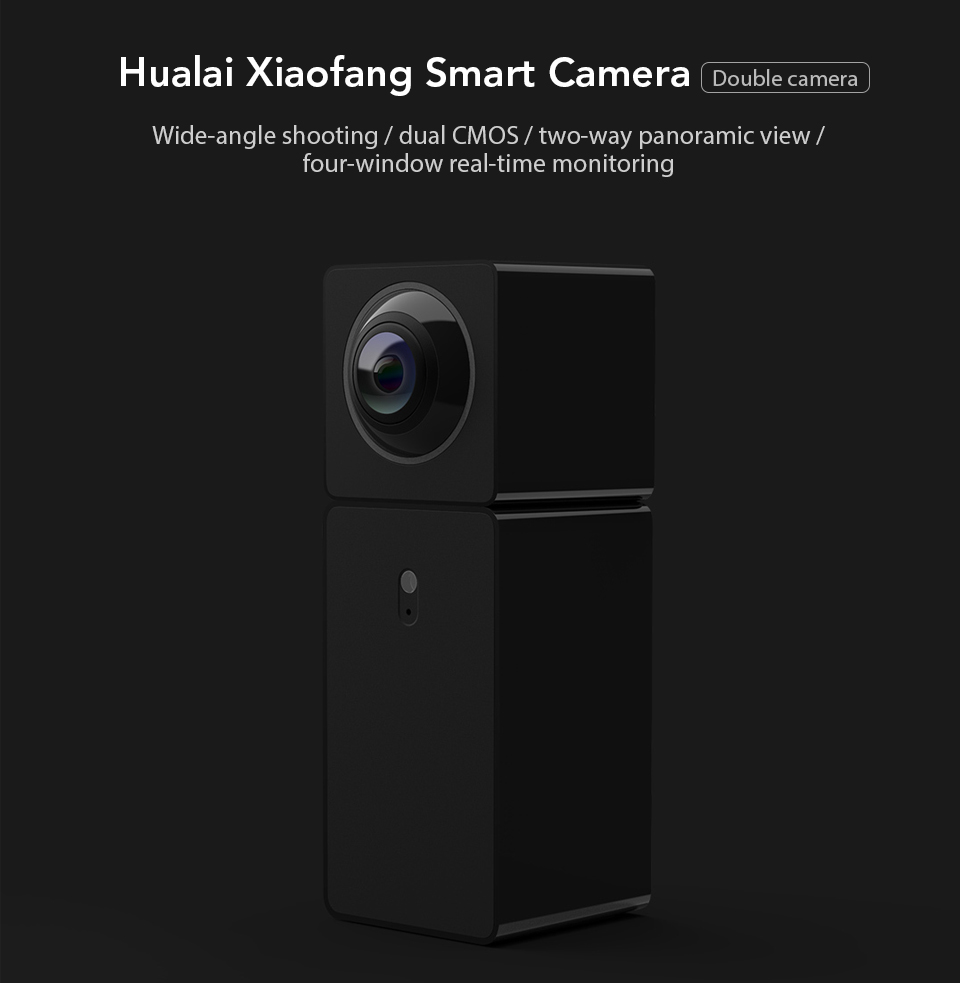Xiaomi Xiaofang Camera Dual Lens Version Panoramic Smart Network IP Camera Four Screens in One Window Two-way Audio Support VR (1)