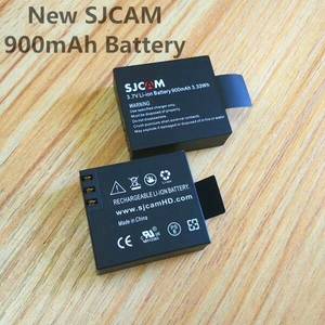 Image 4 - SJCAM Original battery charger 1050/1350mAh battery for SJ4000 wifi Sj5000 M10 c30 EKEN H9R THIEYE T5 Edge E7 Camera Accessories