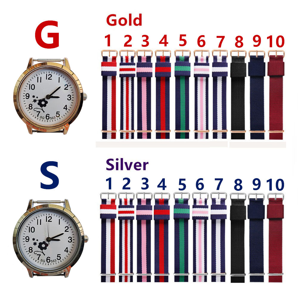 Children's Watches 2018 Famous Brand Children Boys Girls Quartz Canvas Watches Kids Students Birthday Holidays Gifts High Quality Electronic Clock