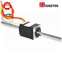 200mm Long Nema11 Non captive Linear Stepper Motor with Tr5*2 leadscrew
