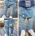 SKZ-301 Free Shipping 2017 New Arrival Spring Autumn Childrens Trousers Kids Fashion Harem Pants Top Quality Boys Jeans Retail