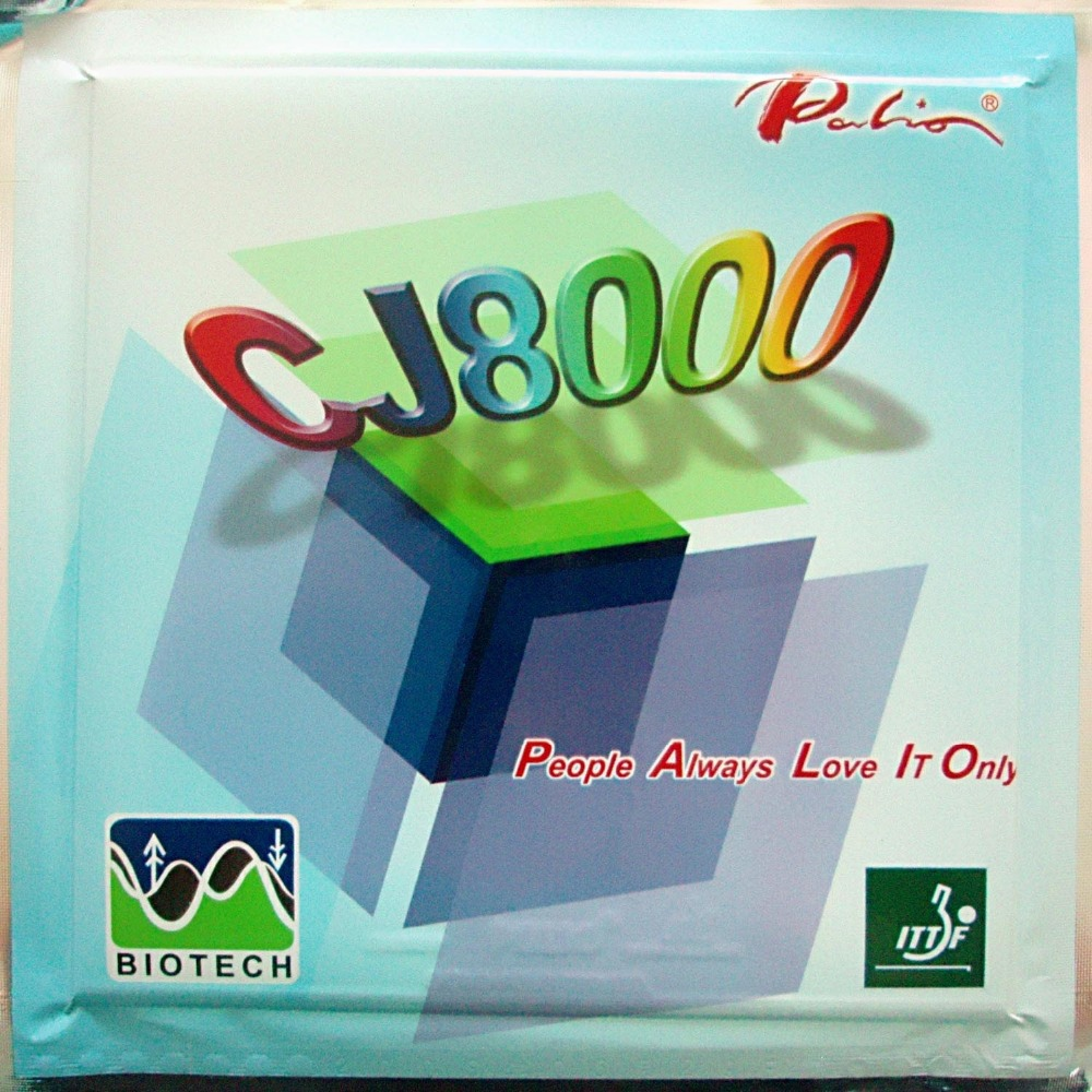 Palio CJ8000 (BIOTECH) Pimples In Table Tennis PingPong Rubber with Sponge (Hardness: 42-44) 2.2mm biotech biotech multivitamin for women 60