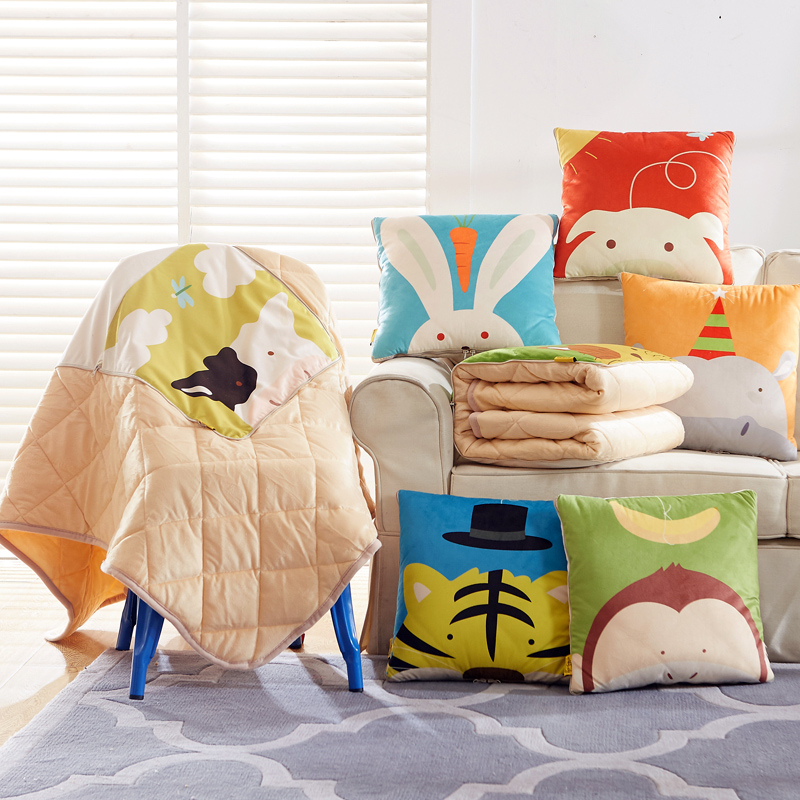 Free Shipping 40 40cm Chair Pad Cushion Pearl Cotton: Cute Monkey Animal Cushions Home Decor Throw Pillow