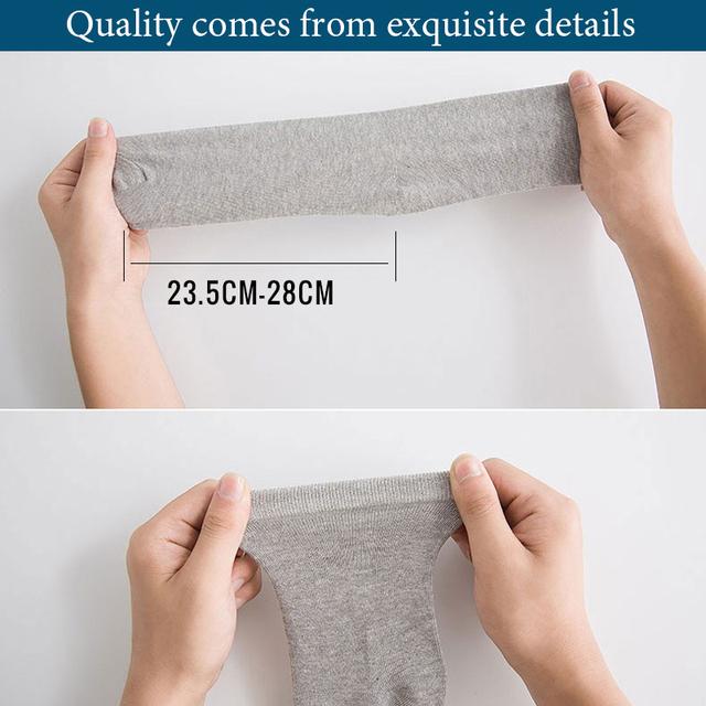 Men's Comfortable Business Socks 5 pairs/lot