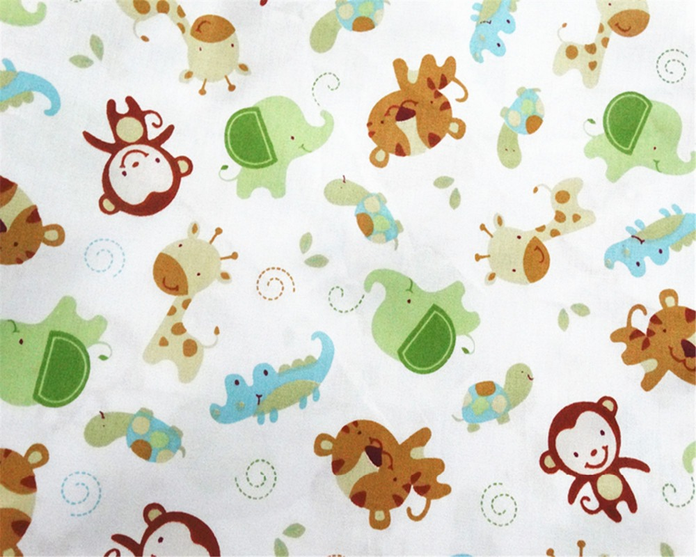 Monkey Dots բամբակյա գործվածքներ Patchwork - Արվեստ, արհեստ և կարի - Լուսանկար 3