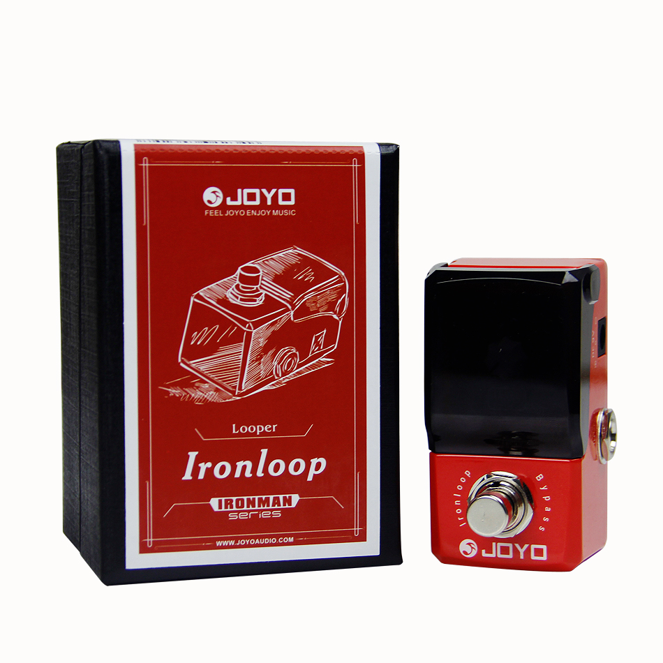 JOYO JF-329 Iron Loop Digital Phrase Looper Guitar Effect Pedal True Bypass Guitar Pedal Guitar Accessories joyo ironloop loop recording guitar effect pedal looper 20min recording time overdub undo redo functions true bypass jf 329