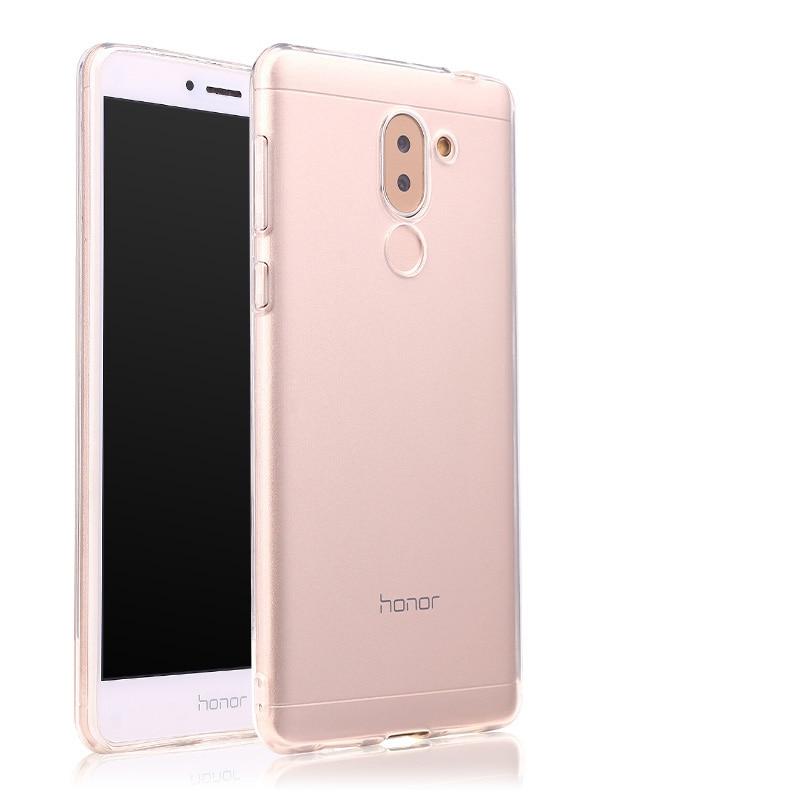 Huawei Honor 6x դեպքում թափանցիկ փափուկ - Բջջային հեռախոսի պարագաներ և պահեստամասեր - Լուսանկար 4