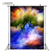 Laeacco Beautiful Unique Color Lines Photo Backgrounds Customized Photography Backdrops For Studio